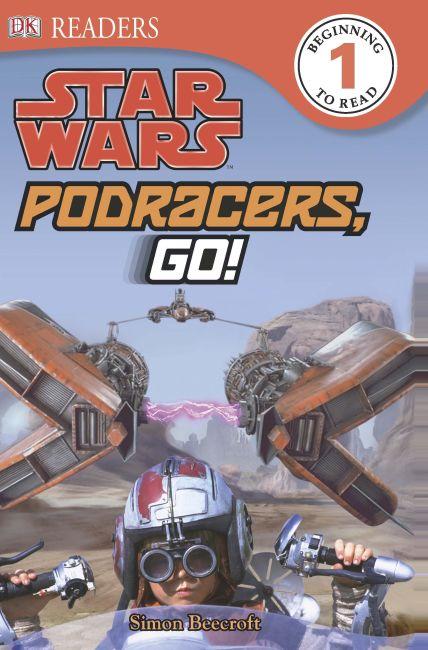 eBook cover of Star Wars Podracers Go!