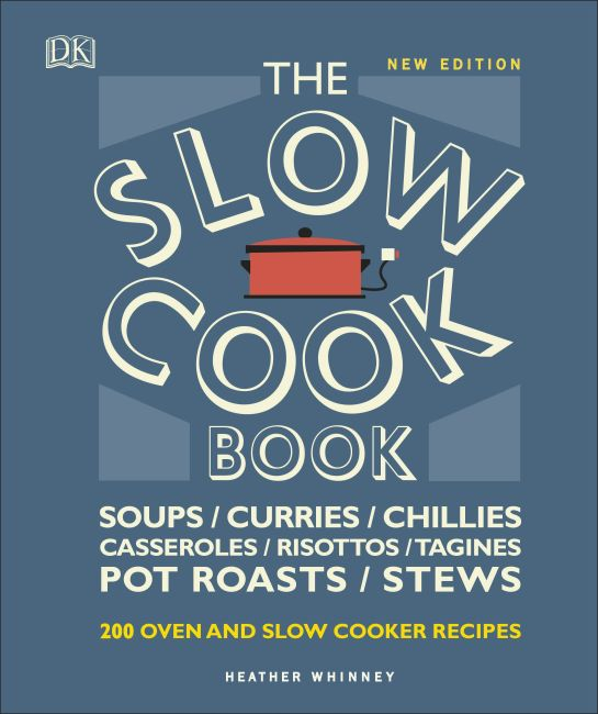 Hardback cover of The Slow Cook Book