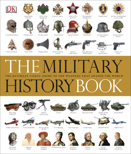 Hardback cover of The Military History Book