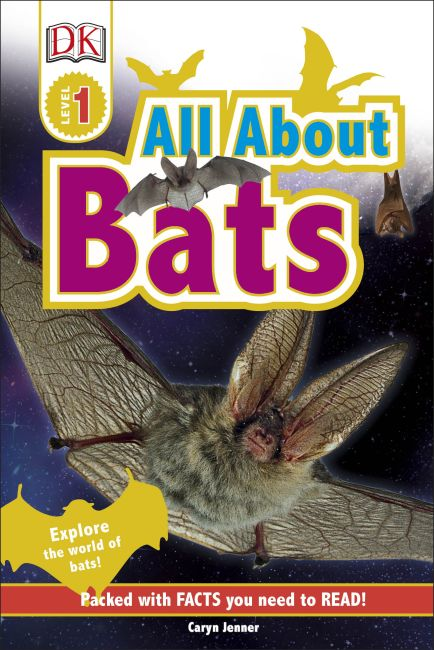 Hardback cover of All About Bats