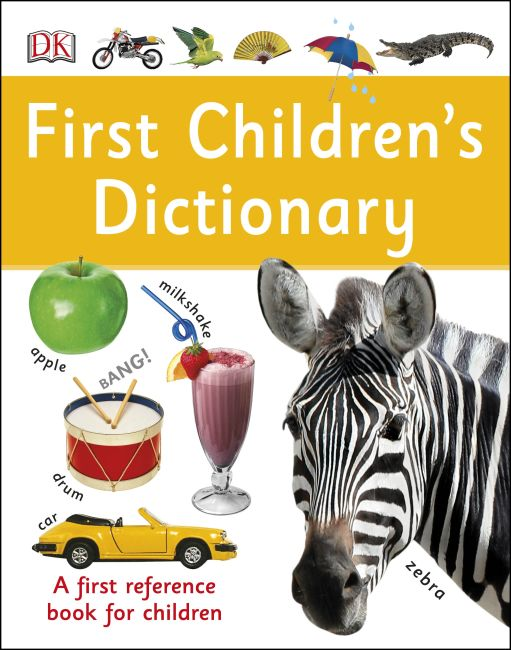 Hardback cover of First Children's Dictionary