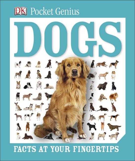 Hardback cover of Pocket Genius: Dogs