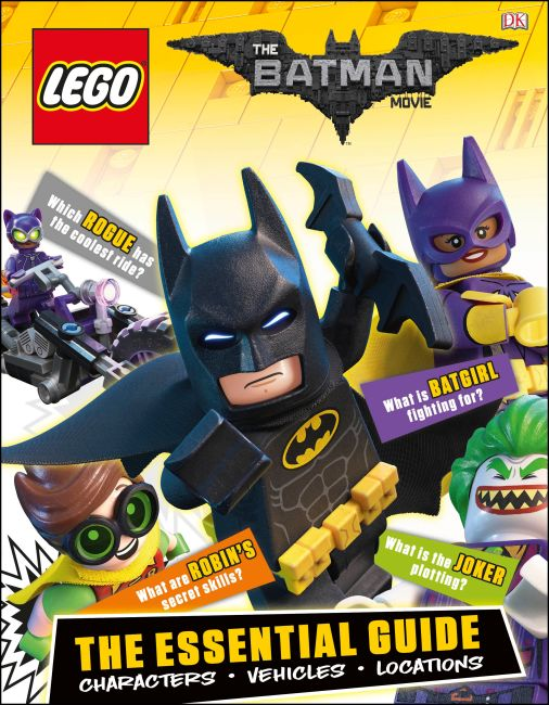 Hardback cover of The LEGO® BATMAN MOVIE The Essential Guide
