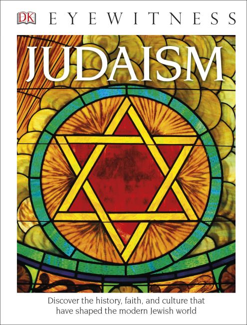 Hardback cover of DK Eyewitness Books: Judaism