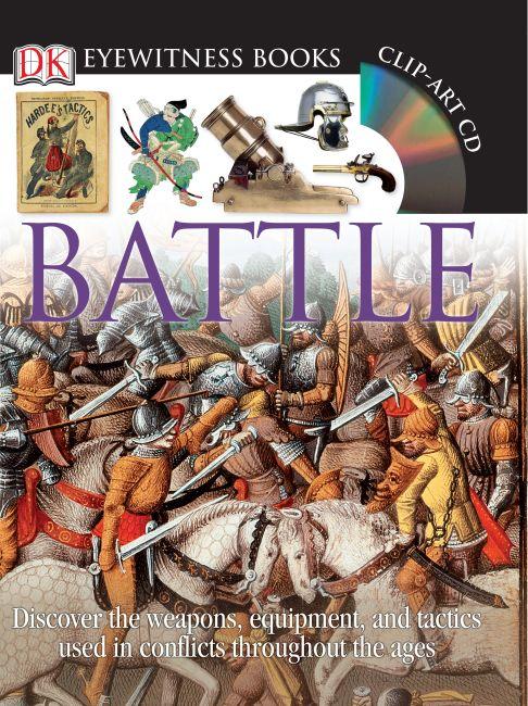 Hardback cover of DK Eyewitness Books: Battle