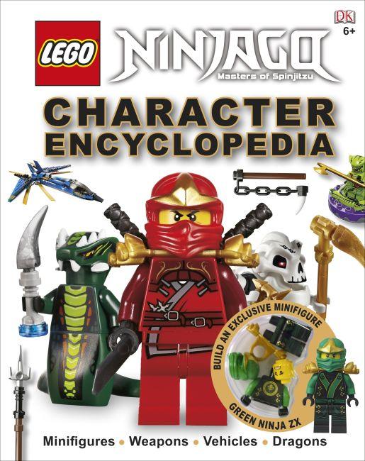 Hardback cover of LEGO® Ninjago Character Encyclopedia