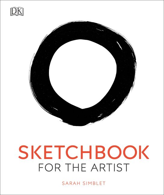 Hardback cover of Sketchbook for the Artist