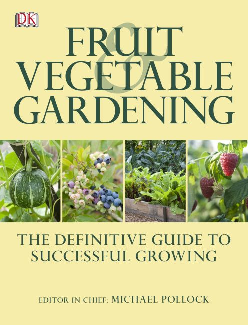 eBook cover of Fruit and Vegetable Gardening