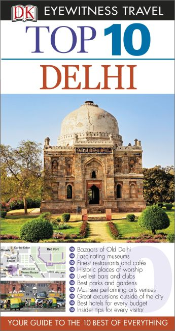 eBook cover of Top 10 Delhi
