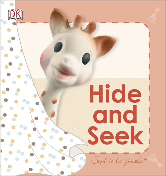 Board book cover of Sophie la girafe: Hide and Seek