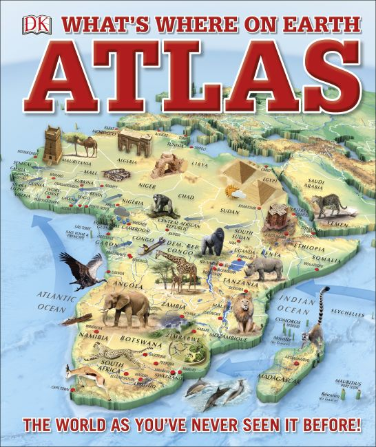 Hardback cover of What's Where on Earth? Atlas