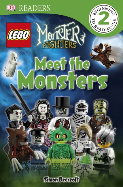 eBook cover of DK Readers L2: LEGO Monster Fighters: Meet the Monsters