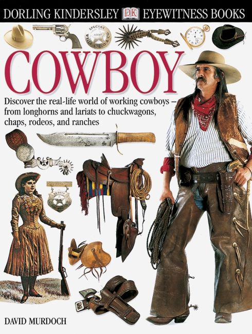 eBook cover of DK Eyewitness Books: Cowboy