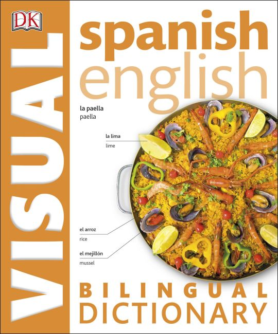 eBook cover of Spanish English Bilingual Visual Dictionary