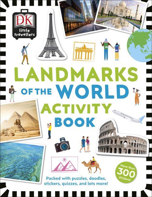 Paperback cover of Little Travellers Landmarks of the World