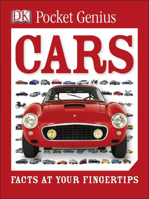 Paperback cover of Pocket Genius: Cars