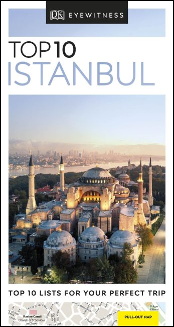 Paperback cover of DK Eyewitness Top 10 Istanbul
