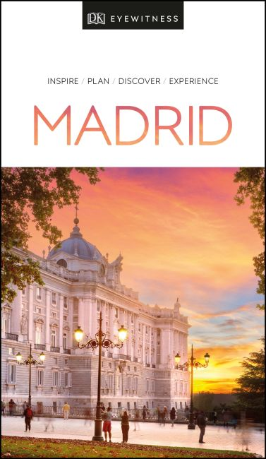 Paperback cover of DK Eyewitness Travel Guide Madrid