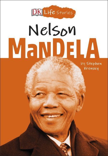 Paperback cover of DK Life Stories Nelson Mandela
