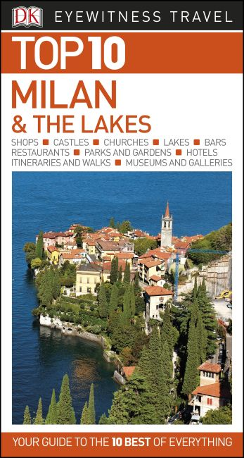 eBook cover of Top 10 Milan and the Lakes