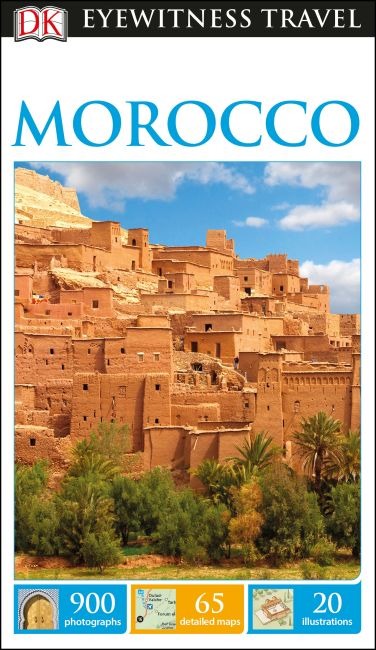 Flexibound cover of DK Eyewitness Travel Guide Morocco
