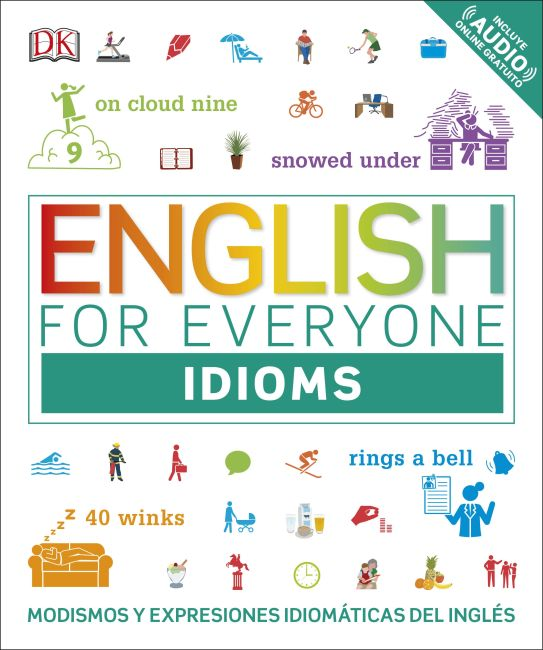 Flexibound cover of English for Everyone: Idioms
