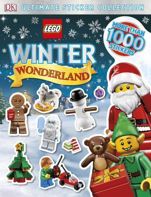 Paperback cover of Ultimate Sticker Collection: LEGO Winter Wonderland