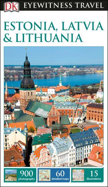 Flexibound cover of DK Eyewitness Travel Guide Estonia, Latvia and Lithuania