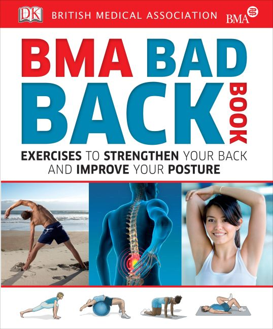 Paperback cover of BMA Bad Back Book
