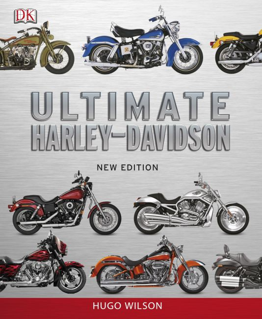 Hardback cover of Ultimate Harley Davidson