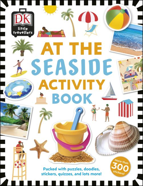 Paperback cover of At the Seaside Activity Book