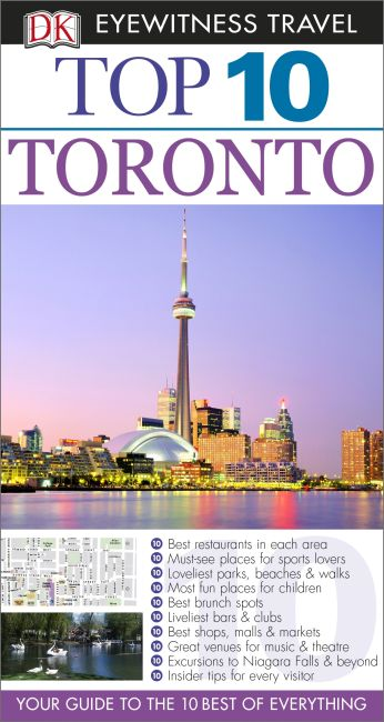 eBook cover of Top 10 Toronto