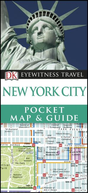 Paperback cover of New York City Pocket Map and Guide