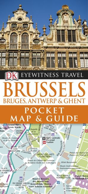 Paperback cover of DK Eyewitness Pocket Map and Guide: Brussels