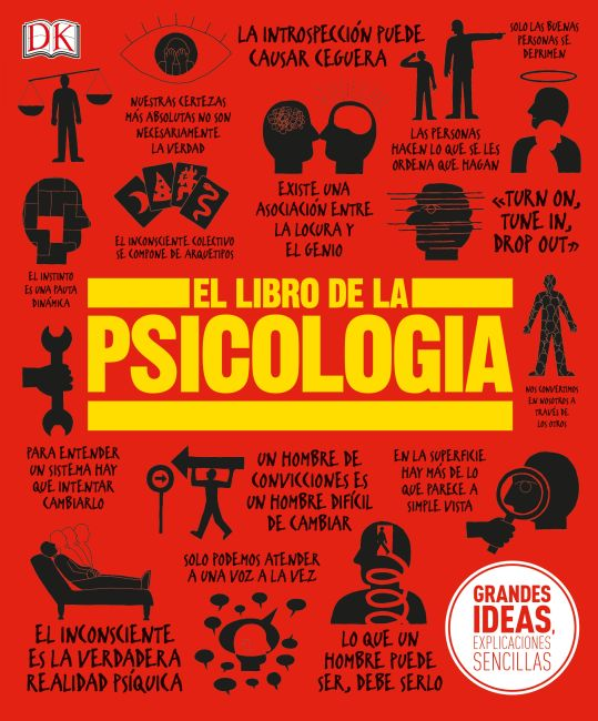 Hardback cover of El Libro de la Psicología