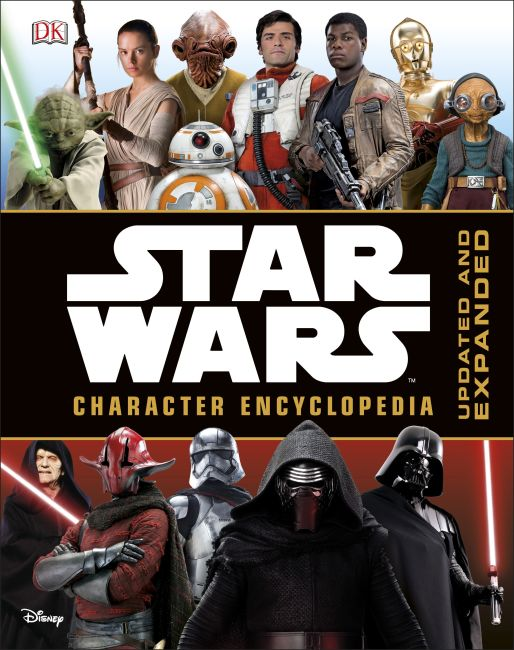 Hardback cover of Star Wars™ Character Encyclopedia