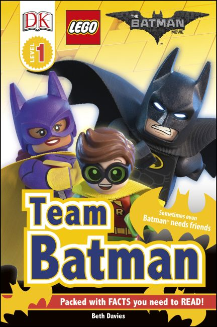 Hardback cover of The LEGO® BATMAN MOVIE Team Batman