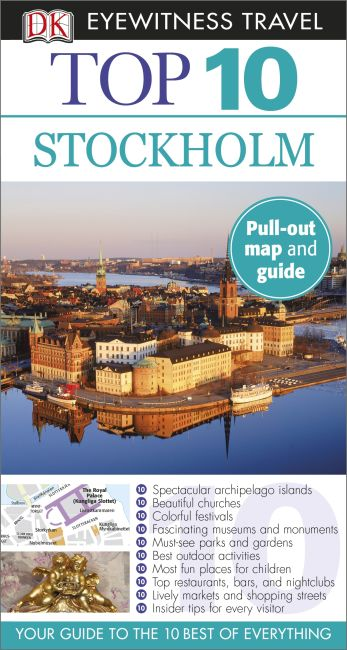 Paperback cover of Top 10 Stockholm