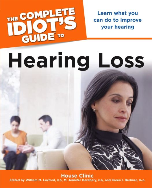 eBook cover of The Complete Idiot's Guide to Hearing Loss