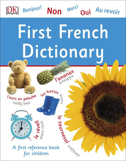 Paperback cover of First French Dictionary