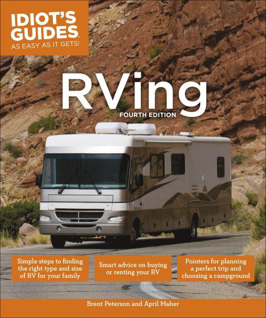 Paperback cover of RVing, 4E