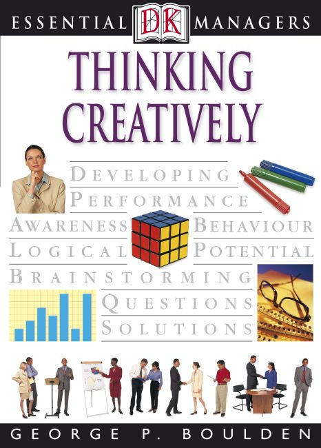 eBook cover of Thinking Creatively