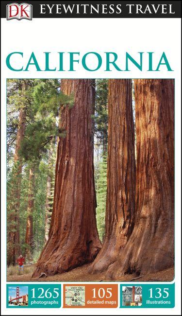 Paperback cover of DK Eyewitness California