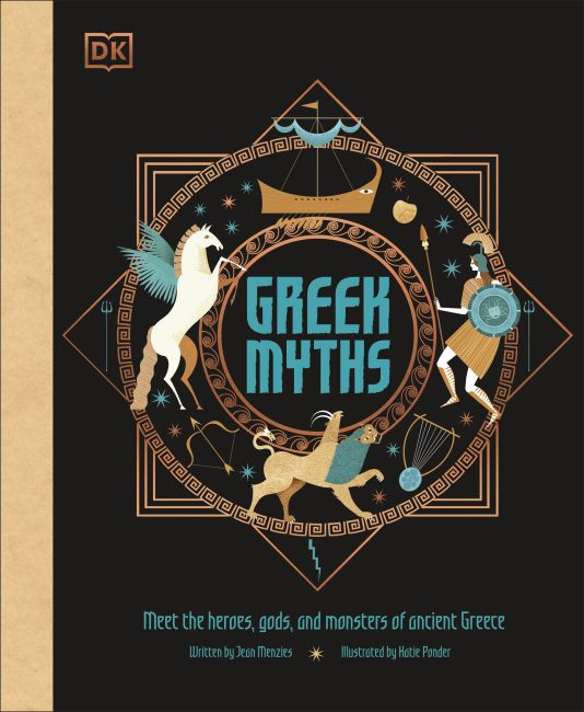 Hardback cover of Greek Myths