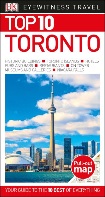 Paperback cover of Top 10 Toronto