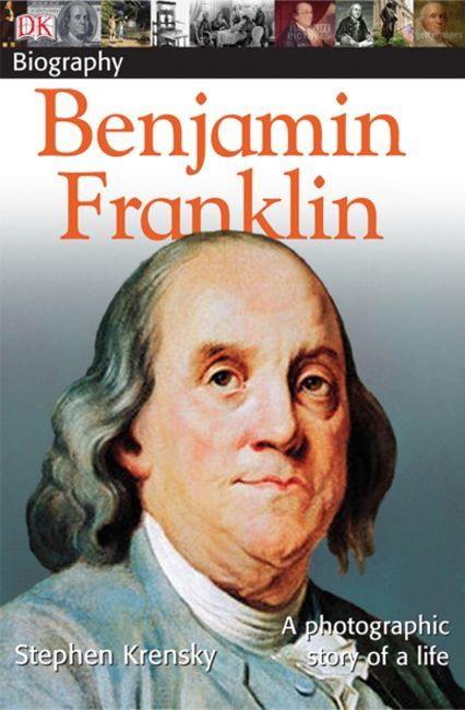 Paperback cover of DK Biography: Benjamin Franklin
