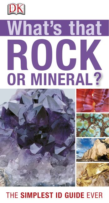 eBook cover of RSPB What's that Rock or Mineral?