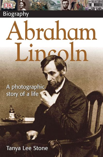 Paperback cover of DK Biography Abraham Lincoln