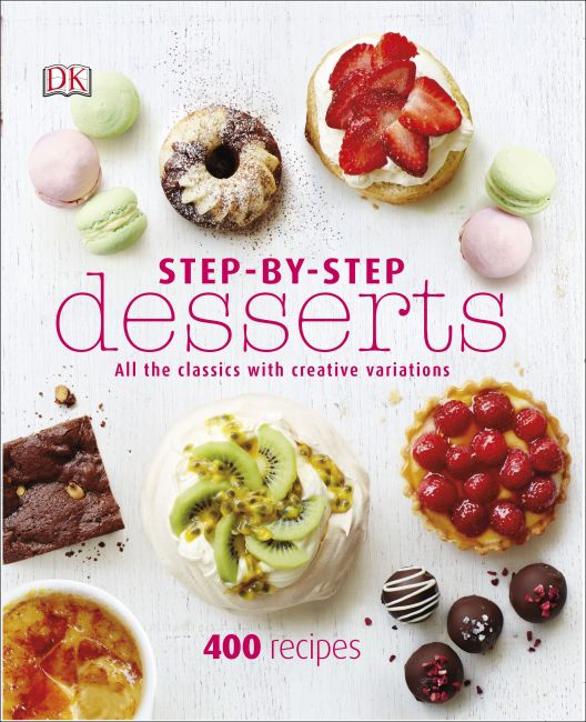 Hardback cover of Step-By-Step Desserts