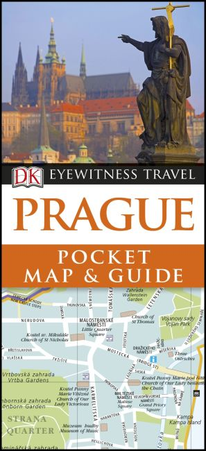 Paperback cover of Prague Pocket Map and Guide